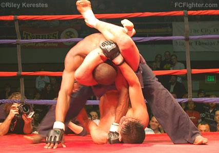 Gracie Triangle Choke Counter to Triangle Choke