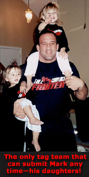 Mark Coleman and his girls